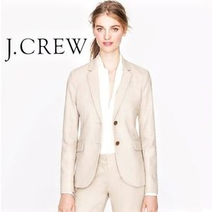 J. Crew Superfine Cream Button Up Blazer 21324